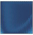 blue comic pop-art halftone background vector image