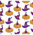 halloween and thanksgiving day symbol pumpkin vector image vector image
