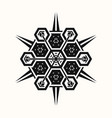 sacred geometry 0076 vector image