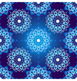 Seamless dark blue vintage christmas pattern vector image vector image