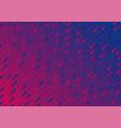 blue purple retro geometric minimal abstract vector image vector image