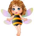 cartoon little fairy vector image