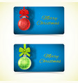 celebrating greeting horizontal banners vector image vector image