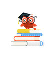 colorful educational logo and back to school vector image vector image