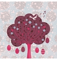 Decorative Easter Tree vector image vector image