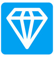 diamond rounded square icon vector image vector image