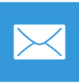 E-mail flat icon vector image vector image