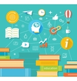 Education professional education vector image