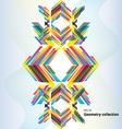geometry abstract pattern vector image vector image