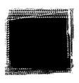 grunge tire tracks frame background vector image vector image