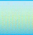 halftone gradient dot pattern background - design vector image vector image