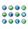 hobby leisure and holiday icons vector image vector image