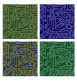 pattern of electronic circuit vector image vector image