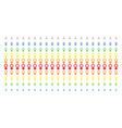venus symbol shape halftone spectral grid vector image vector image