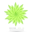 abstract background flower vector image