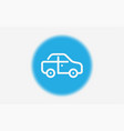 car icon sign symbol vector image vector image
