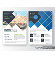 Corporate business flyer layout design