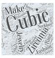 Cubic Zirconia Jewelry is Making a Splash in vector image vector image