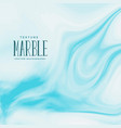 marble texture background in blue color vector image vector image