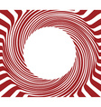 Red Round background vector image vector image