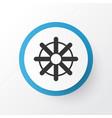 rudder icon symbol premium quality isolated vector image