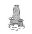 spool of thread vector image