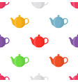teapots seamless pattern vector image vector image