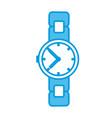vintage wristwatch accesorie vector image