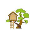 Tree-House-380x400 vector image