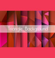 abstract set red background vector image