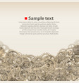 pinions on background vector image vector image