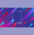 blue creative solutions background with geometric vector image