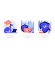 employee health abstract concept vector image vector image