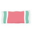 isolated cotton towel design vector image