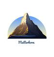 matterhorn mountain peaks landscape early