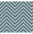 Seamless 60s Retro Zigzag Pattern Cool vector image vector image