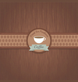 42coffeebackground2 vector image vector image