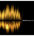 Abstract background-shiny sound waveform vector image
