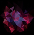 abstract irregular polygon square background vector image vector image