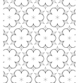 Abstract pattern in drawing style vector image vector image