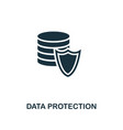 data protection icon premium style design from vector image vector image