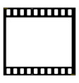 film strip blank photo frame free space for your vector image
