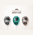 international men s day or father s day vector image vector image