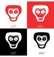 Monkey logotype template vector image vector image