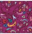 Purple swirl pattern vector image vector image