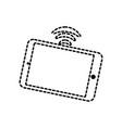 smartphone sticker vector image vector image