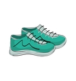 Sport sneakers accesorie vector image vector image