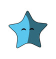 star cute cartoon vector image
