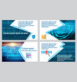 abstract binder layout white a4 brochure cover vector image vector image