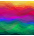 Abstract Wavy Background vector image vector image